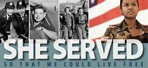 women vets she served