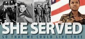 women veterans served